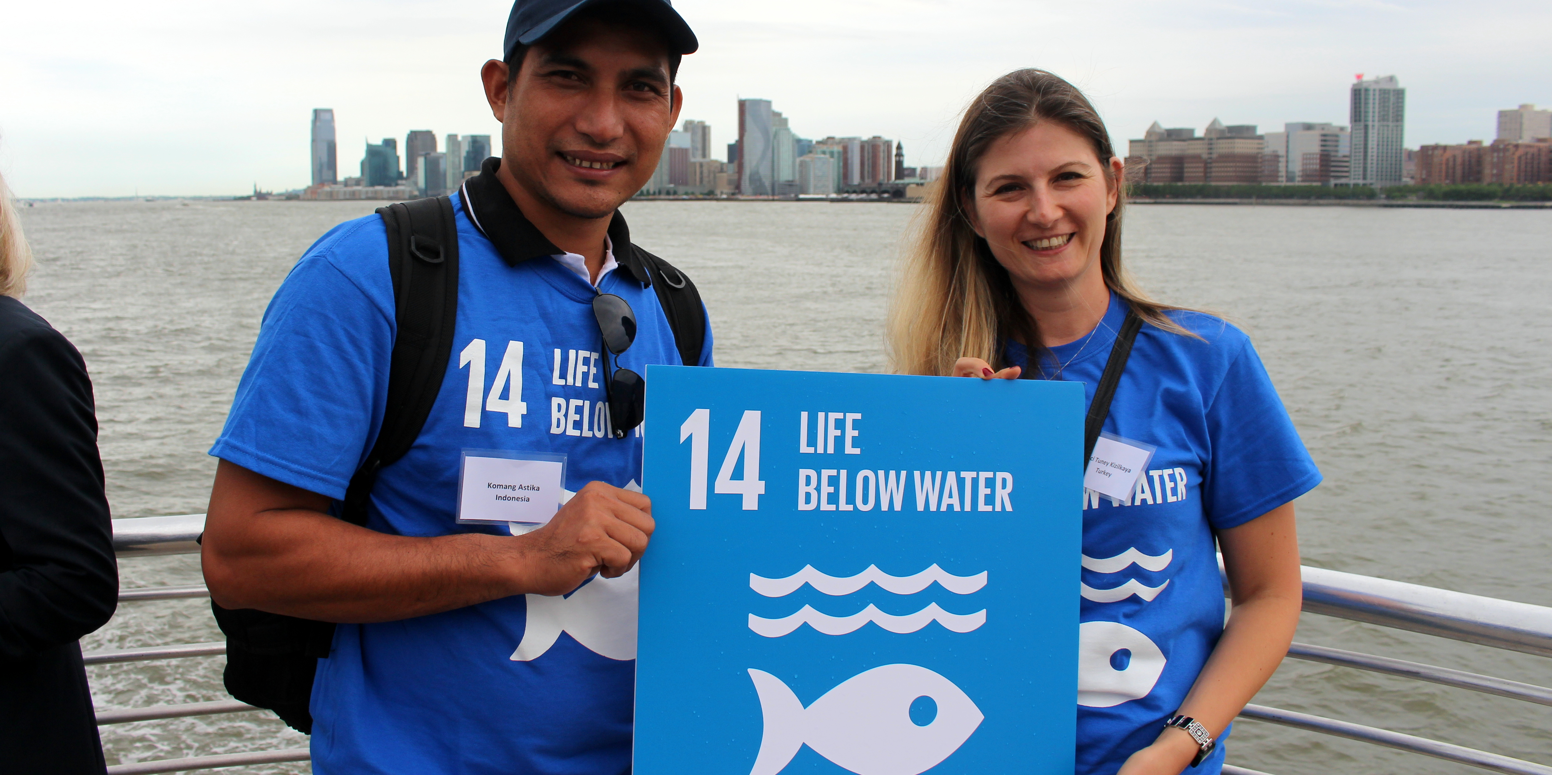 """26% of all carbon emissions are absorbed by our oceans"""" says Prof. Elizabeth Holland from University of the South Pacific . - picture by UNESCAP"""